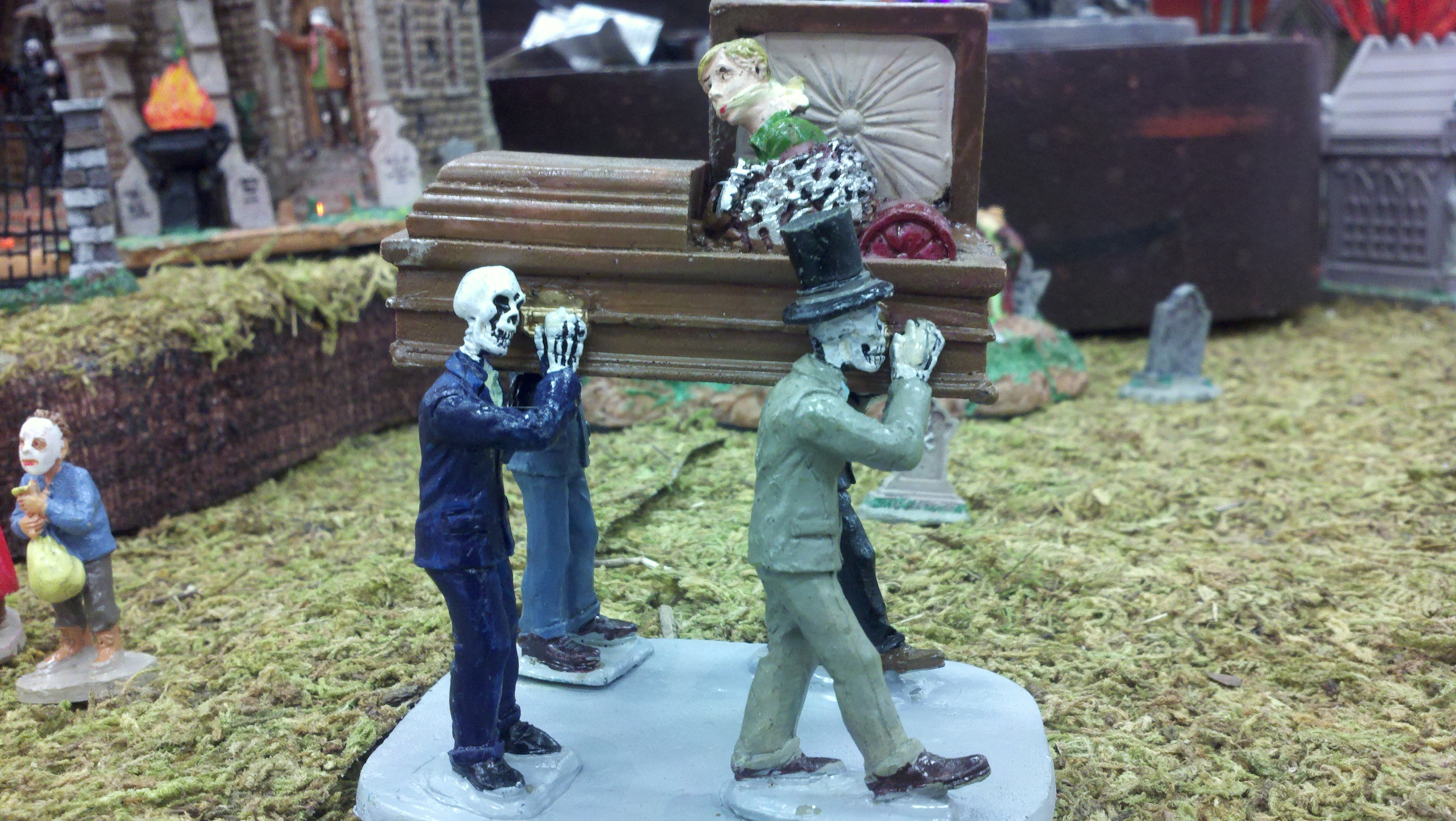 Spooky Hollow Casket Bearers