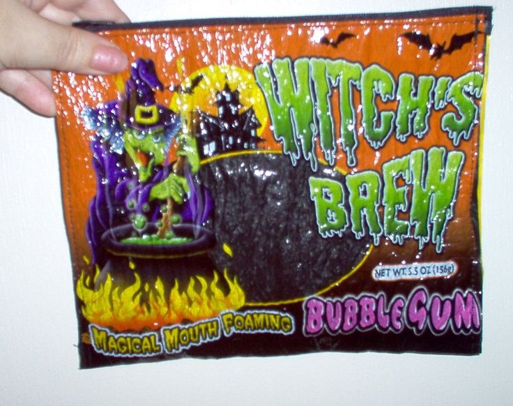 fused halloween bag