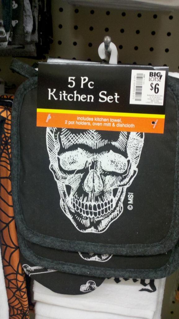 Halloween Potholders