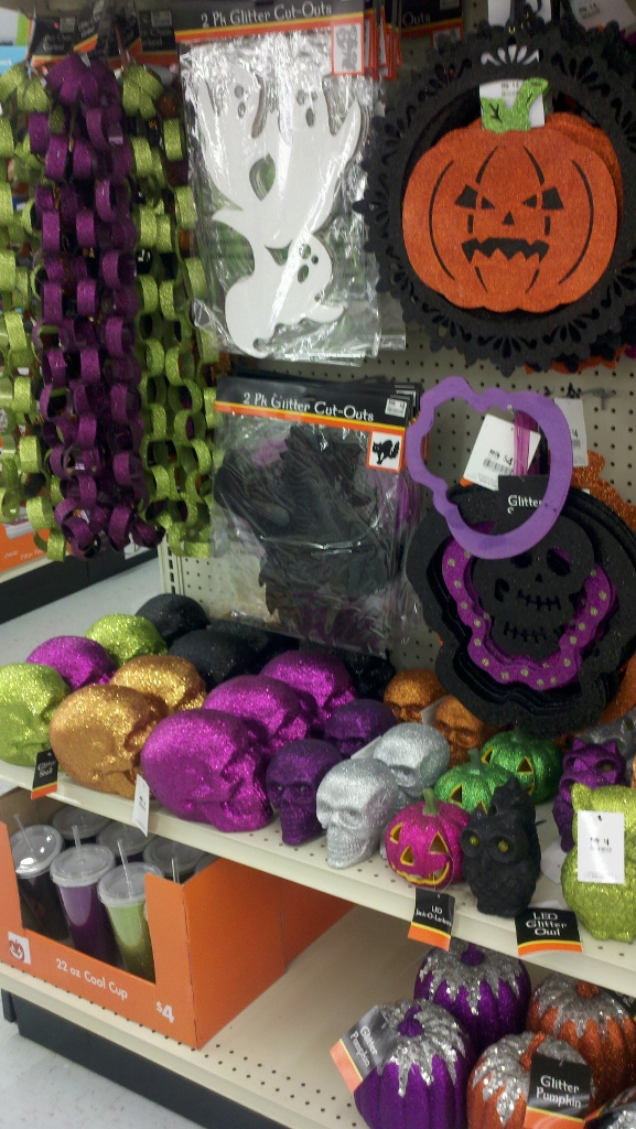 Big Lots Halloween bling