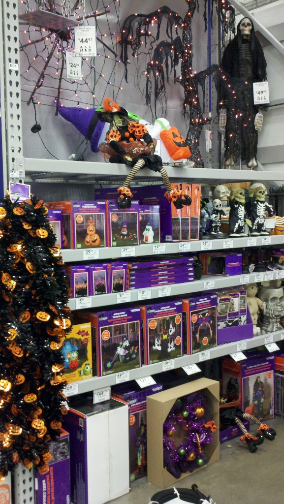 Halloween at Lowe's