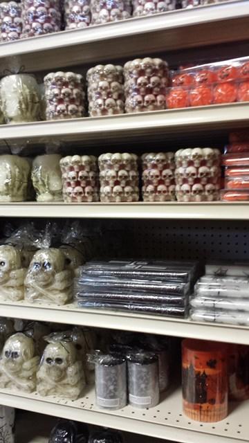 Standard Halloween candles