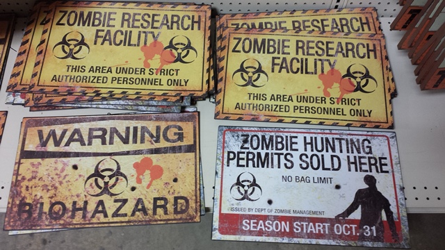 Zombie signs!