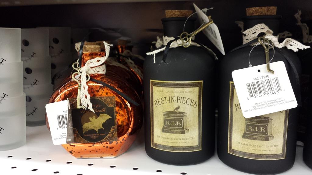 Spooky Bottles