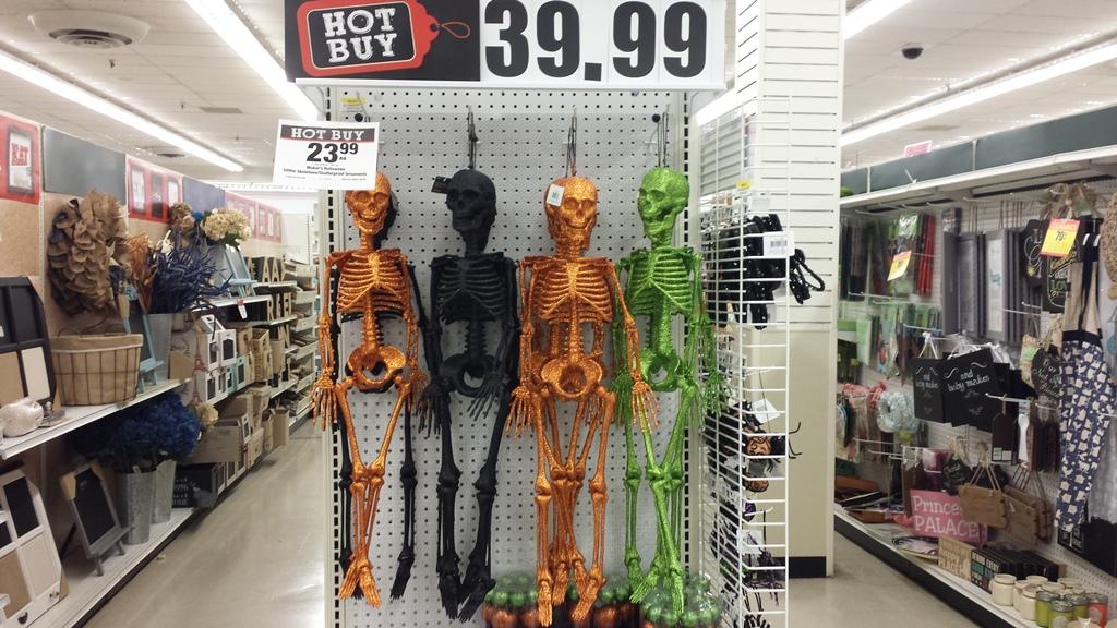 Glitter Skeletons