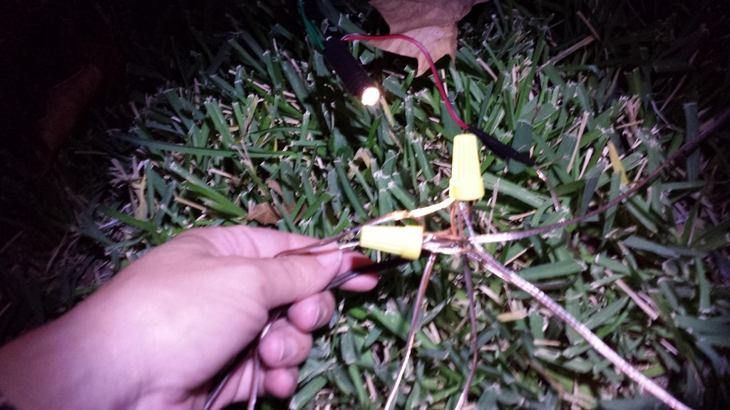 wiring late at night